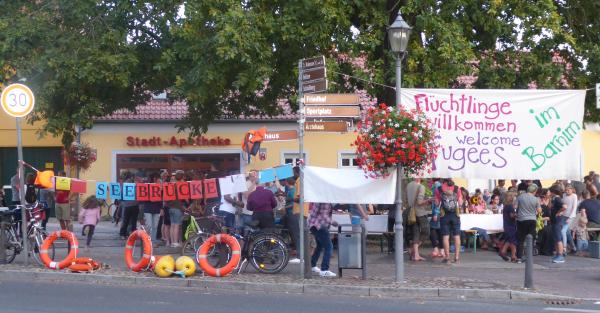 Solidarisches Abendessen in Biesenthal