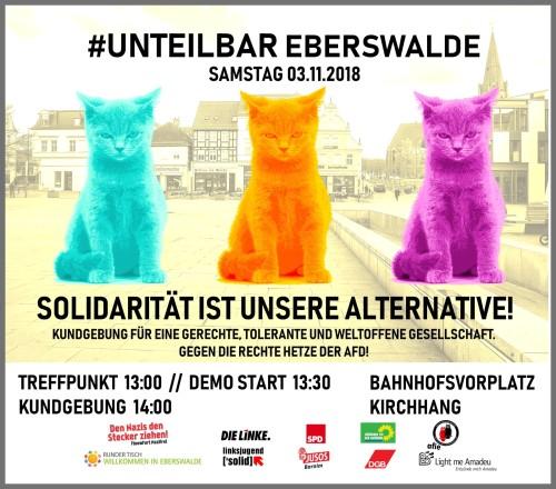 Eberswalde unteilbar