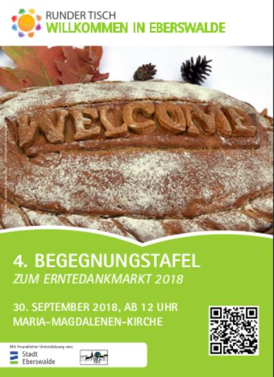 Erntedank-Plakat Eberswalde